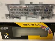 ✅k-line By Lionel Ringling Bros Barnum Bailey Circus Scale Stock Animal Car New