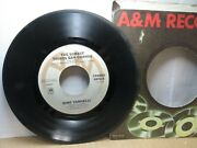 Old 45 Rpm Record - Aandm 2072-s - Gino Vannelli - I Just Wanna Stop / Surest Thin
