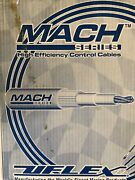 Uflex-machzerox17 High Efficiency Control Cable 17ft. For Yamahahondavolvoetc