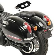 Sacoches Laterales Pour Harley Heritage Softail Classic 18-19 Detach. Alabama