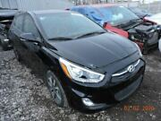 Black Front Clip With Fog Lamps Projector Headlamps Fits 15-17 Accent 1122511