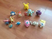 Pokemon Collection Gen 1, 2 Ornaments, 3 Spin Tops, 2 Key Chains, And More