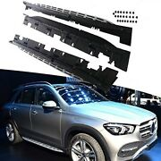 2pcs Side Step Fit For W167 Gle 2020 Fixed Running Boards Nurf Bar For Passenger