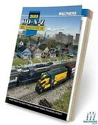 Walthers 913-219 2019 Ho, N, And Z Scale Train Reference Book Catalog