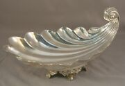 Beautiful Sanborns Sterling Silver Scallop Shell Candy Dish Mexico 15.35 Ozt
