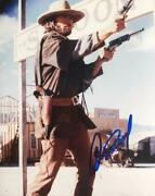 Clint Eastwood Signed Photo American Actor - Aftal - Onlinecoa