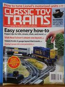 Classic Toy Trains 2013 May Easy Scenery How To Turn Lionel Motorized Units