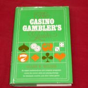 The Casino Gambler's Guide First Edition Hardback Book By Allan Wilson Strategy