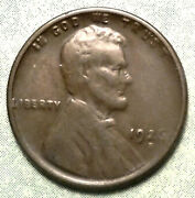 1926 S Wheat Penny Xf+ Choice Extra Fine Low 4.5 Mill Mintage San Francisco Cent