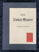The Rohan Master A Book Of Hours 1973, George Braziller Slipcase