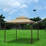 Gazebo Top Cover Outdoor Canopy 10.6x10.6and039 Replacement For Madaga Gazebo Frame