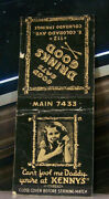 Vintage Matchbook Cover Z4 Colorado Springs Cute Little Girl On Phone Canand039t Fool