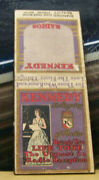 Rare Vintage Matchbook Cover Z8 Kennedy Royalty Of Radio Life Tone Reception
