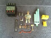 Lionel 12 Piece Train Lot Whistle Controller Model 66 Props Lockons Sign Misc.