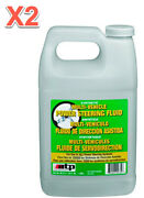 2 X 64 Fl.oz. Power Steering System Fluid Atp Synthetic Universal Multi-vehicle