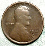 1914 D Wheat Penny Vg+ Choice Very Good Brown Key Date Low 1.2 Mill See Store