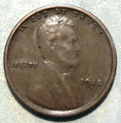 1918 S Wheat Penny Au About Uncirculated Brown Ww1 Cent Low 34.7 Mil Many Store