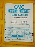 1990 Johnson Evinrude 125 Hp Commercial Outboard Boat Motor Parts Catalog 433797