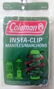 Coleman Insta-clip Tube Mantle 2 Pk 95-102c For Models 2000 And 2500 Series New