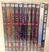 New X-files Complete Tv Series And Movie Collection Dvd Seasons 1-9 + 2 Movies