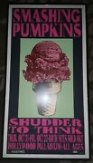 Smashing Pumpkins Wsg/shudder To Think 10/21 And 22 '93 Autographed Framed Poster