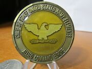 Chief Of Staff Us Army Elements Supreme Hq Allied Command Europe Challenge Coin