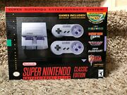 New/unopened Snes Classic Edition