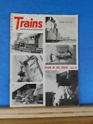 Trains Magazine 1957 September Steam In The South Gainesville Midland Colorado M