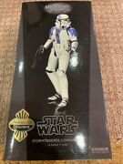 Sideshow Star Wars 1/6 Exclusive Force Unleashed Stormtrooper Commander Nib