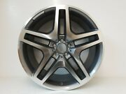 4 X 21 Alloys And Tyres Gunmetal And Polish Spoked Fits Audi Q7mercedes Mlglgle
