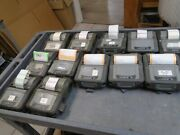 Lot Of 12 Zebra Ql420 And Ql 420 Plus Mobile Printers As Is For Parts Or Repair