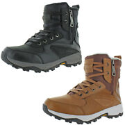Pajar Menand039s Toretto Leather Waterproof Cold Weather Winter Snow Boots
