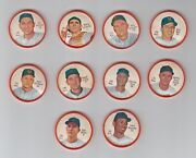 Lot Of 10 Different New York Mets 1962 Salada Coins - 200 Series