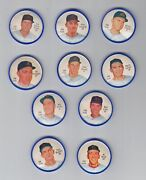Lot Of 10 Different Houston Colt 45s 1962 Salada Coins - 200 Series