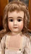 C1890 23andrdquo Antique German Hard To Find 630 Closed Mouth Abg Doll Perfect