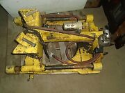 Wachs Guillotine Pneumatic Pipe Saw Cuts Model D 6 To 18 Pipe