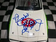 1988 Richard Petty 1/24 Autographed And Dale Inman Stp 6 Monte Carlo