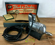 Vintage Black And Decker Fixkit Home-utility 1/4 Electric Drill Kit