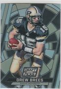 Drew Brees Draft Picks Ncaa College Football Card Stained Glass Purdue Insert