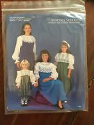 Uncut Dancing Needles Adult Sz 6-16 Heirloom/french/smocking Sewing Pattern