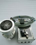 Pfeiffer Tmh 260 Turbo Pump+tcp121 Controller+ Cable Working 30 Days Warranty