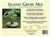 Island Grow Mix -floating Planter Soil 1 Gallon-for Water Plants-pond-aquatic