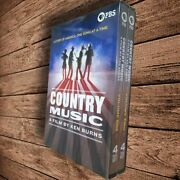 Ken Burns Country Music [new Dvd] Boxed Set Brand New And Sealed Fast Shipping