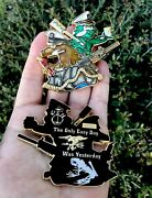 Navy Seal Team Trident Bone Frog Raft Nsw Challenge Coin Non Cpo Chief Mess Nypd