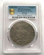 Germany Saxony 1608-hr Thaler Pcgs Silver Coinrare