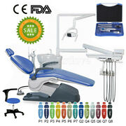 Tj2688-a1 Dental Unit Chair Computer Controlled Dc Motor + Stool + Handpiece Kit