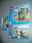 Lego Instructions Book Only - Lego City - City Bank And Money Transfer 3661