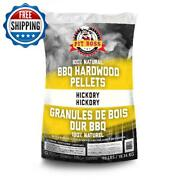 40 Lbs Wood Pellets Hickory Barbecue Smoking Grill Meat Smoker Cooking Pit Boss