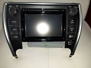 Oem 2016-2017 Toyota Camry Am Fm Cd Hd Player Radio Receiver With Navigation