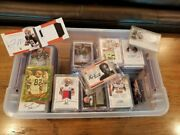 Awesome Cleveland Browns Football Card Lot - Autos Relics Rookies Short Print